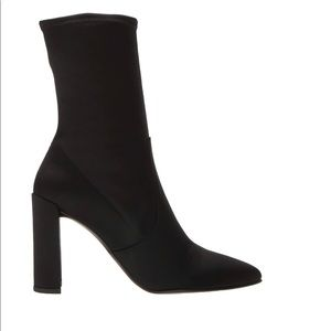 Stuart Weitzman Clinger Stocking Bootie Stretch
